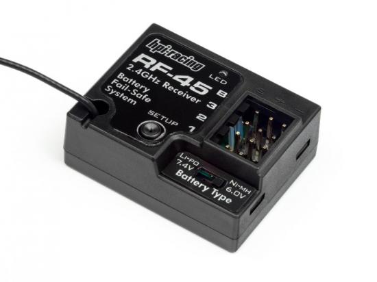 HPI RF-45 2.4Ghz 3 Channel Receiver