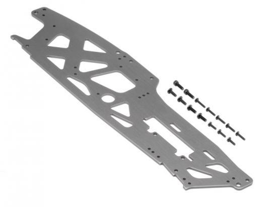 HPI Tvp Chassis (Left/Gray/3mm)