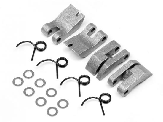 HPI Aluminum Quadra Clutch Shoe/Spring Set