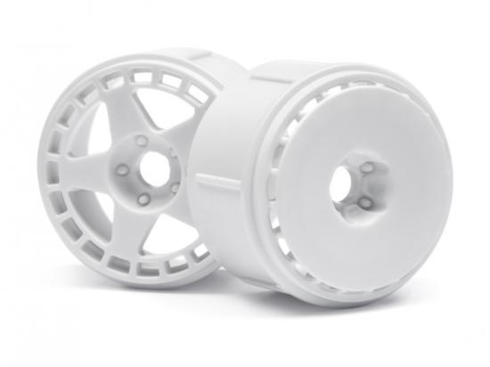 HPI Micro RS4 FIFTEEN52 TurboMac Wheels - White - Pack of 6