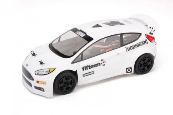 2015 Ford Fiesta Clear Bodyshell - 140mm for Micro RS4