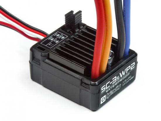 HPI SC-3SWP2 Waterproof ESC - 3S LiPo Limit - 12T Motor Limit