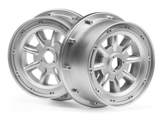 HPI Ml-8 Wheel Silver (120X60mm/2Pcs)
