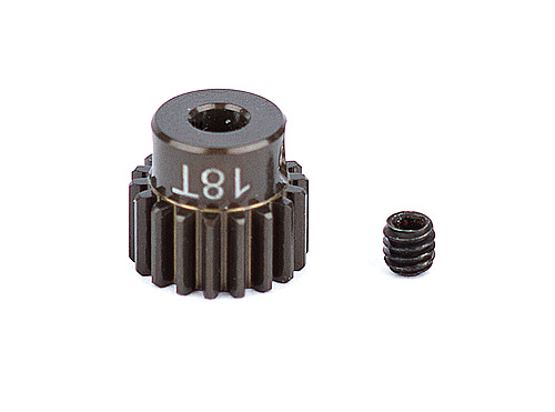 Associated Factory Team Alum. Pinion Gear 18T 48Dp 1/8 Shaft