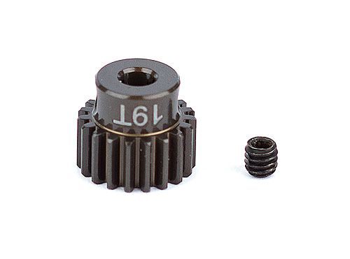 Associated Factory Team Alum. Pinion Gear 19T 48Dp 1/8 Shaft