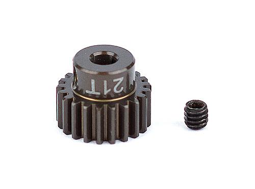 Associated Factory Team Alum. Pinion Gear 21T 48Dp 1/8 Shaft
