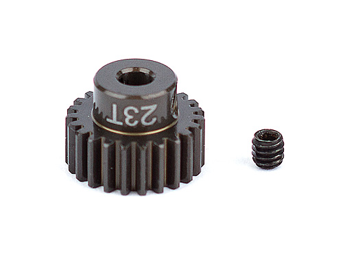 Associated Factory Team Alum. Pinion Gear 23T 48Dp 1/8 Shaft