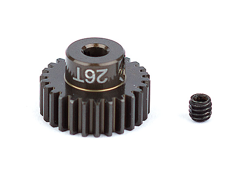 Associated Factory Team Alum. Pinion Gear 26T 48Dp 1/8 Shaft