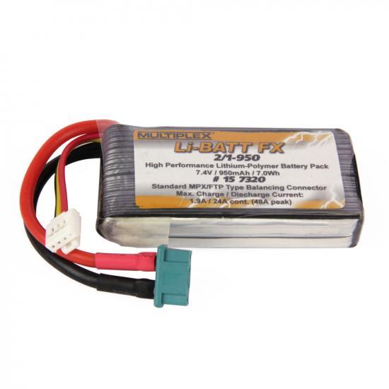 Li-Batt FX 2/1-950 M6 Battery 7.4v 950mAh ** CLEARANCE **