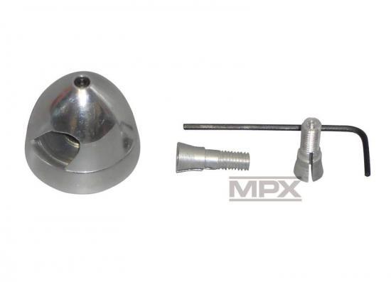 Multiplex Alu. Spinners W. Taper Collet 29mm 332318