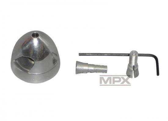 Multiplex Alu Spinners W Taper Collet 38mm 332319