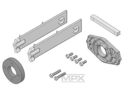 Multiplex Motormount Incl. Screws Acromaster 332686
