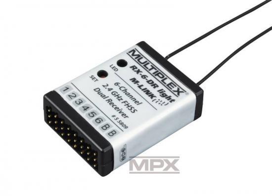 Multiplex Receiver Rx-6-Dr Light M-Link 2.4 G 55809
