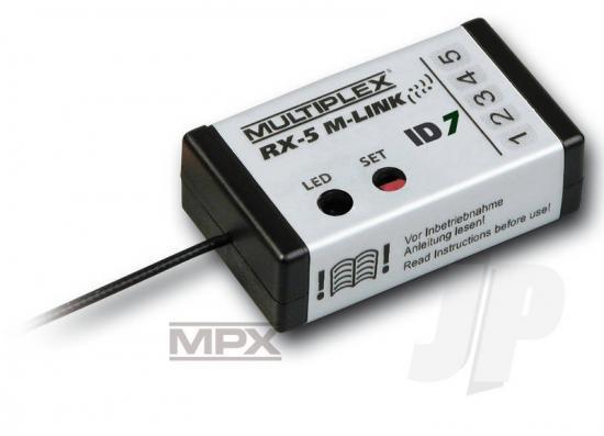 Multiplex Receiver Rx-5 M-Link Id 7 24 Ghz 55833