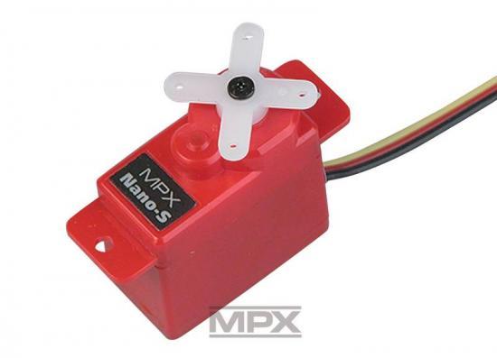 Multiplex Servo Nano-S (Uni) 65120