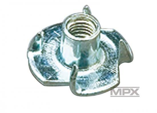 Multiplex Captive Nuts M6X8 10 Pcs. 713333