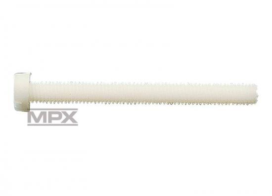 Multiplex Plastic Cheesehead Screw M4X18 X10 717063