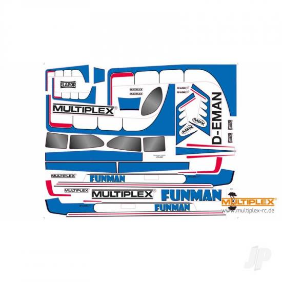 Multiplex Decal Funman 724397