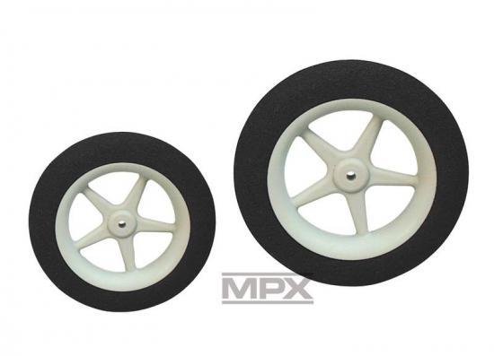 Multiplex Super-Light Foam Wheels 45 mm Pair 733204