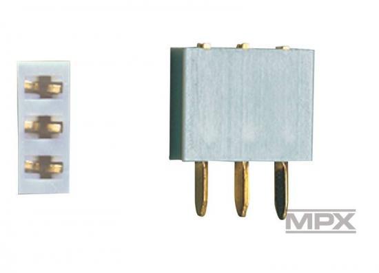 Multiplex 3-Pin Socket 5 Pcs. (Mp) 85225 ** CLEARANCE **