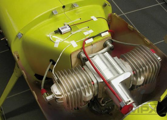 Multiplex Temperature Sensor For Receivers Ml 85402