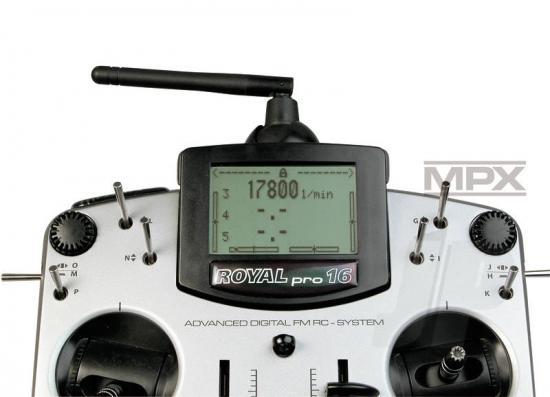 Multiplex Rpm Sensor (Magnetic) 85415