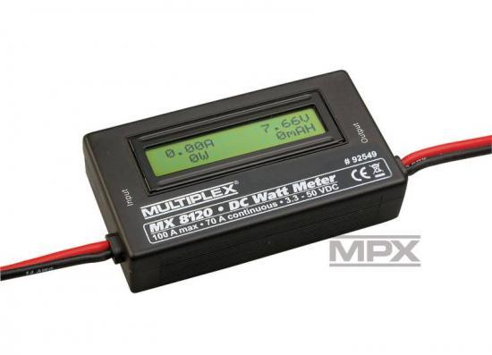 Multiplex Watt-Meter Mx 8120 92549