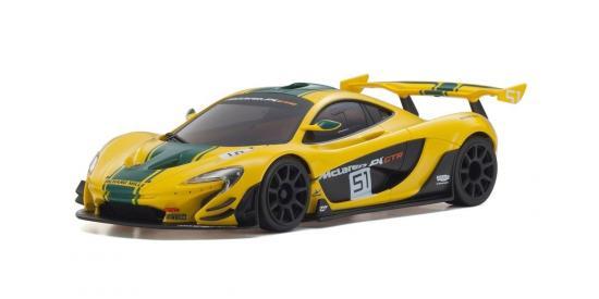 Kyosho Mini-Z RWD McLaren P1 GTR Yellow/Green