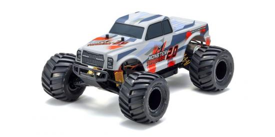 Kyosho Monster Tracker 2.0 - Red