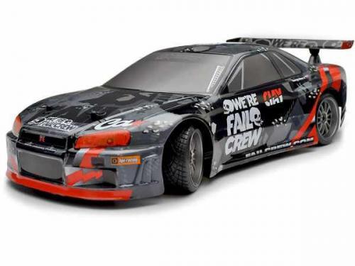 HPI E10 Drift - Fail Crew Nissan Skyline R34 GT-R