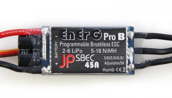 EnErG Pro B-45 Sbec Esc (45A) (2-6 Cells)