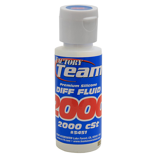 Associated FT Silicone Diff Fluid Oil 2000cst