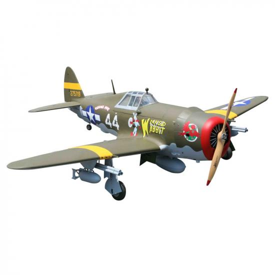 Seagull P47 Thunderbot 33-38cc (with retracts) (30cc) 2.03m (80in) (SEA-306)