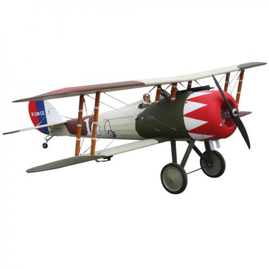 Seagull Nieuport 28 1/5 Scale (20cc) 1.72m (68in) (SEA-303)
