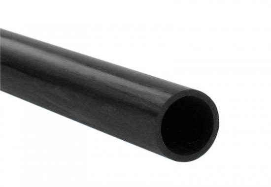 Carbon Fibre Round Tube 6.0mm x 5.0mm x 1mt