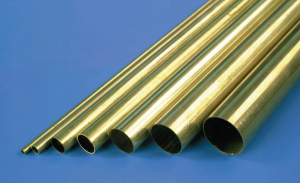 K+S JP 1251 1/16 X .014 Rd. Brass Tube (Pack Of 12) ** CLEARANCE **