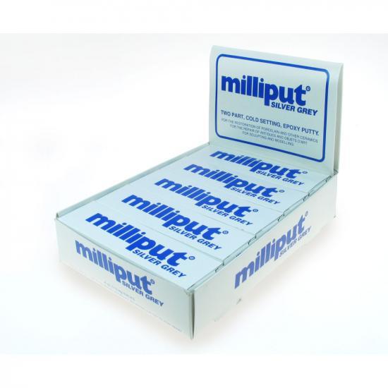 Milliput Silver Grey - Bulk Pack Of 10