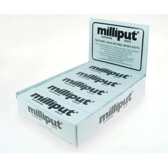 Milliput White Superfine - Bulk Pack Of 10