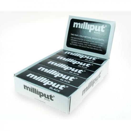 Milliput Black - Bulk Pack Of 10