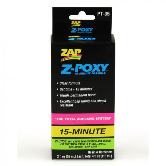 Zap Z-Poxy 15-Min 4Oz (6) Pt35 - Bulk Pack Of 6