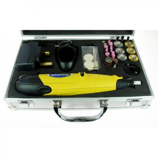 Rotacraft RC09 Variable Speed Cordless Rotary Tool Kit