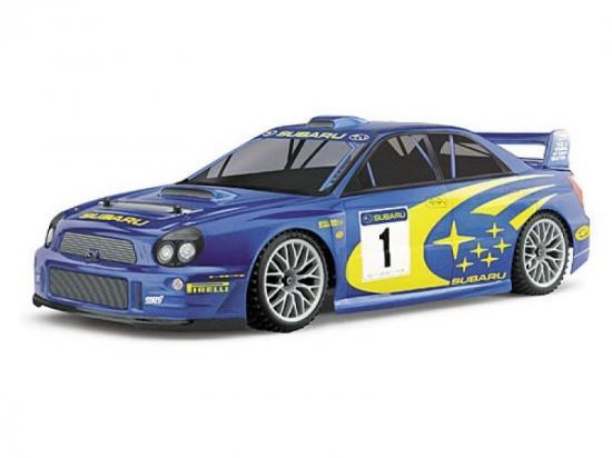 Subaru Impreza Rally Car Body (300mm Wheelbase)