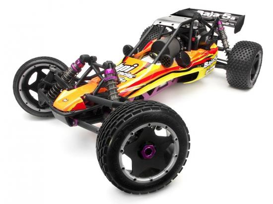HPI Baja 5B Buggy Clear Unpainted Body Shell Set