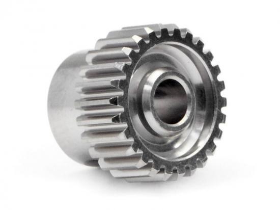 Aluminium Pinion Gear 26 Tooth Hard Anodized 64DP