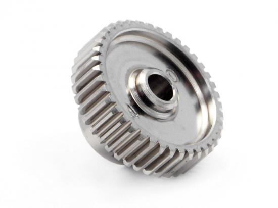 Aluminium Pinion Gear 40 Tooth Hard Anodized 64DP