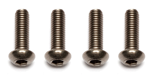 Associated Ti Screws 3 X 10mm Bhcs (4) Titanium