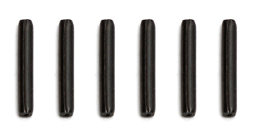 Associated B44.3 Front Hex Roll Pins For As9955 12mm Hexes (Pk 6)