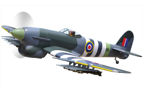 Black Horse Hawker Typhoon 1B ARTF