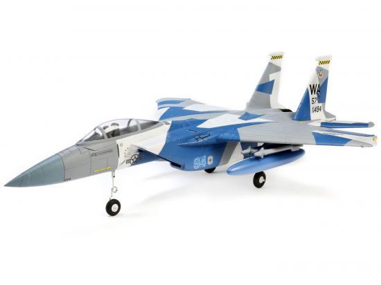 E Flite F-15 Eagle 64mm EDF AS3X - BNF Basic