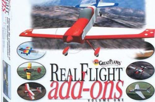 RealFlight Add-Ons Volume 1
